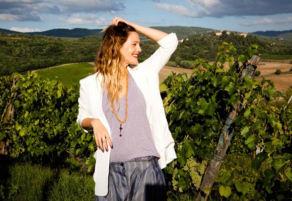 Drew Barrymore cuenta con toda una selección de vinos con su nombre