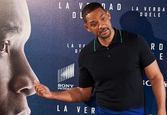 Will Smith durante la presentación en Madrid