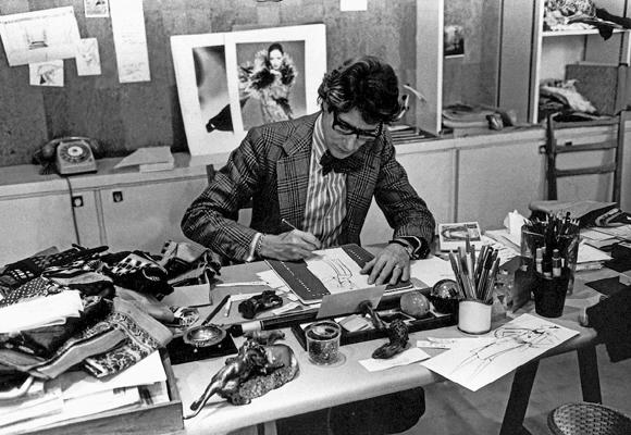 Yves Saint Laurent fue un genio de la moda
