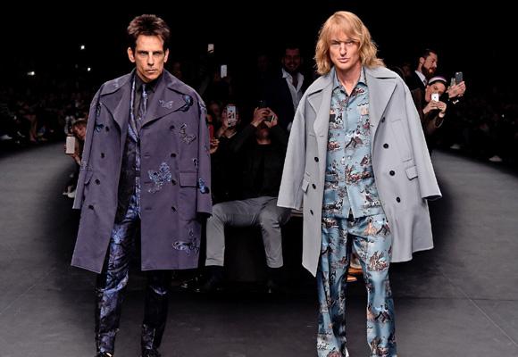 El mundo de la moda se ha rendido ante los protas de 'Zoolander 2'
