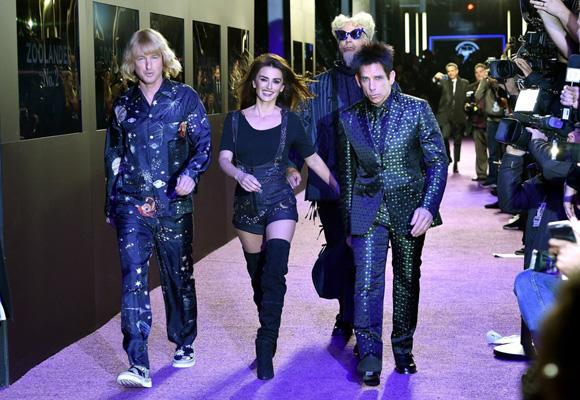 Los protagonistas han desfilado en NY como parte de la promoción de la película