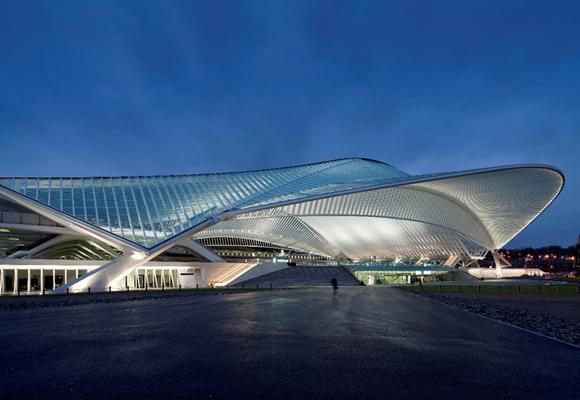 Terminal de Lieja-Guillemins. Un espectáculo arquitectónico