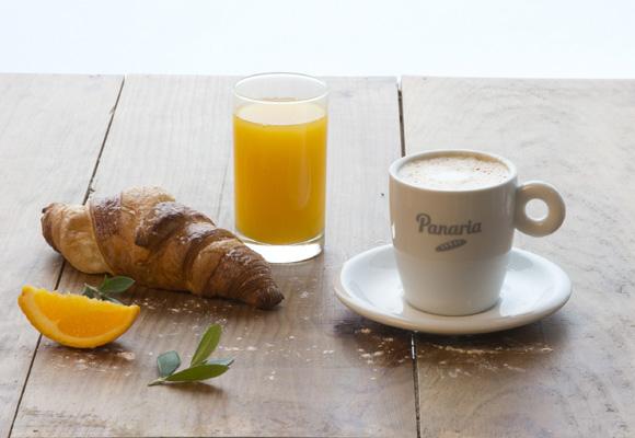 Panaria es una cafetería para disfrutar de todo tipo de bollería y pan