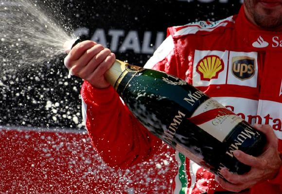 Mumm ya no patrocina la Fórmula1 sino la Fórmula E
