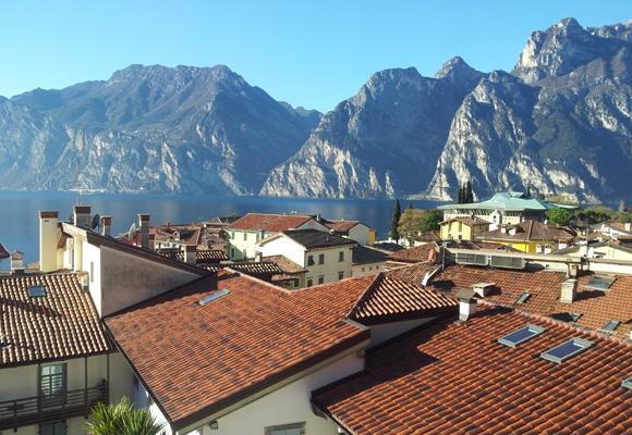 El marco espectacular del Lago de Garda