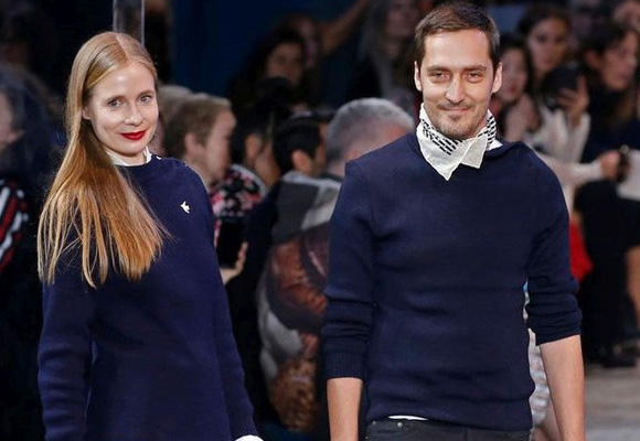 Serge Ruffieux y Lucie Meier, directores creativos de Dior