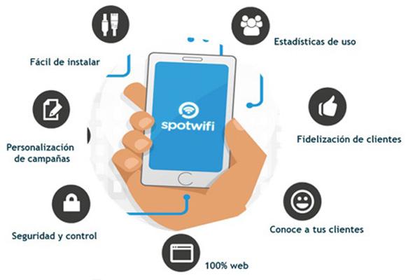 Spotwifi, un servicio digital para pymes