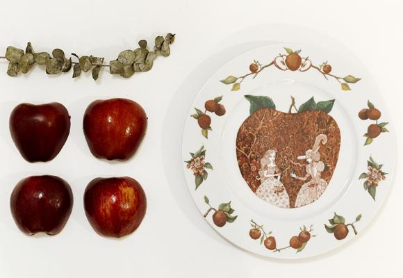 Manzanas y Blancanieves para tu mesa más exclusiva. Compra aquí