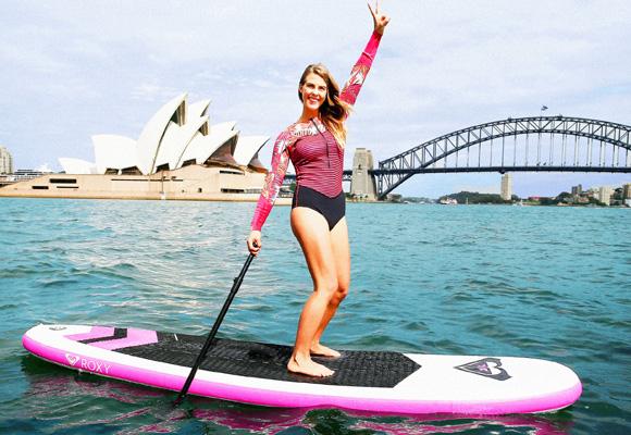 Disfrutarás del mar, el sol y la compañía de otras mujeres deportistas