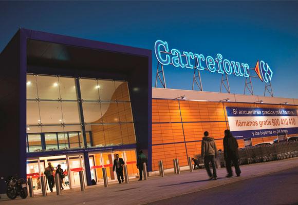 Carrefour crece más en Francia