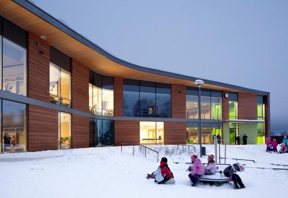 Ritaharju School en Finlandia
