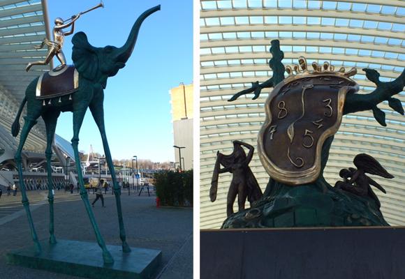 Exposición de Dalí en Bélgica