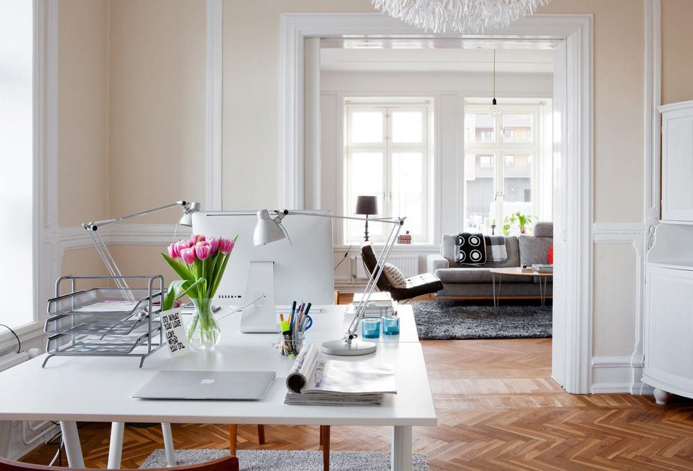 Un despacho en casa para conciliar the luxonomist for Fotos despachos en casa