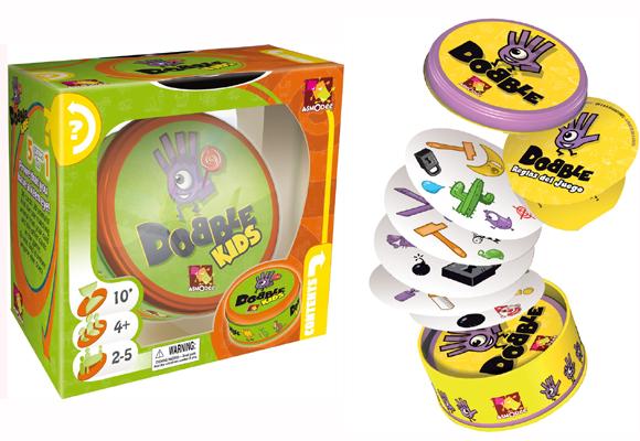 Aquí puedes comprar las cartas Dobble Kids