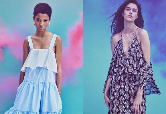 Vestidos de aires setenteros de la SS 2016 de Zara. Compra aquí