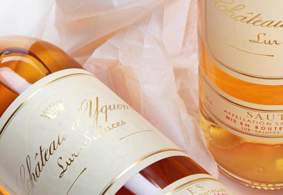 Vino dulce Château d'Yquem. Compra aquí