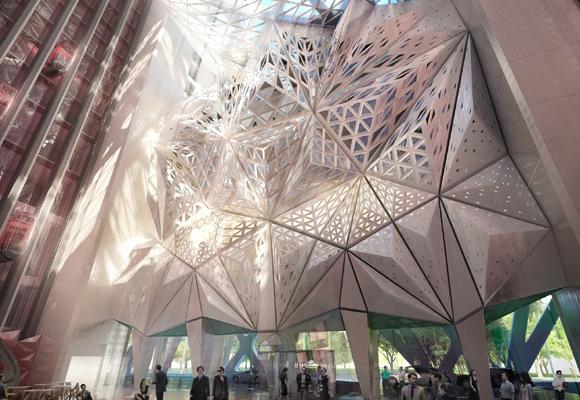 Hotel Ciudad de los Sueños de Zaha Hadid