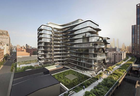 La personalidad de Hadid se ve reflejada en su arquitectura