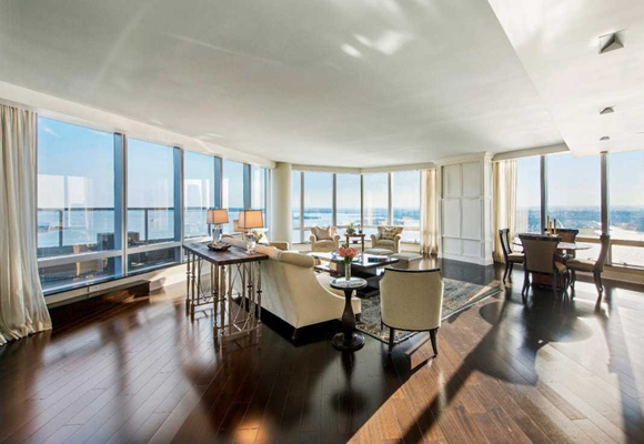 Un apartamento en el Ritz con unas vistas de 360 grados