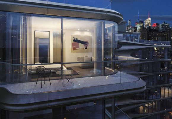 El primer diseño de Zaha Hadid en NY