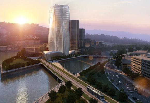 Sede del banco BBK en Bilbao