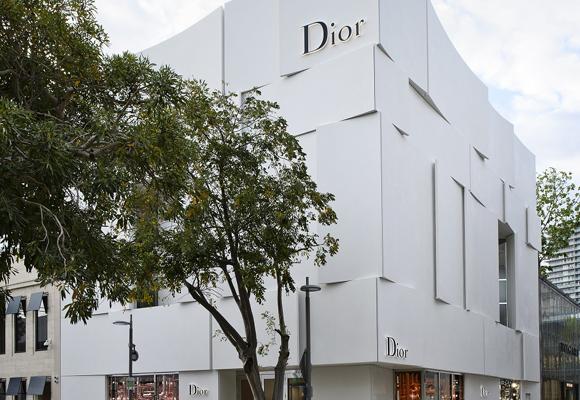 La espectacular nueva tienda Dior en Miami