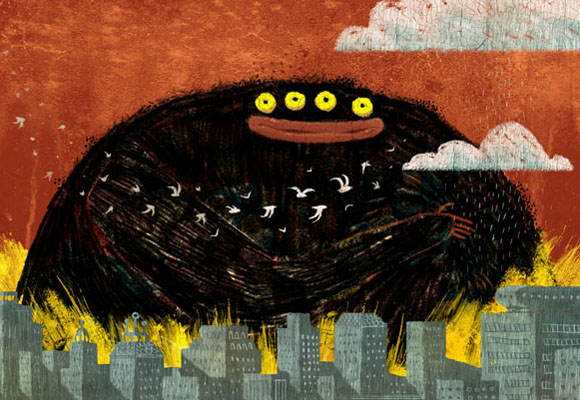 Tan importantes como el propio texto son las ilustraciones. En España destaca David Peña, conocido como Puño. Infórmate aquí. http://www.ied.es/blog/david-pena-puno-ilustrador-y-director-del-curso-one-year-de-ilustracion/4039