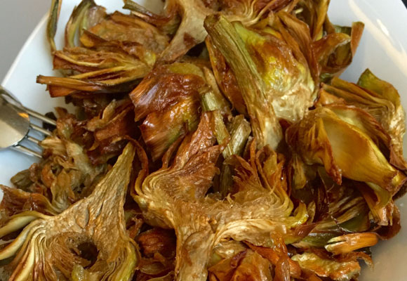 Las alcachofas, deliciosas