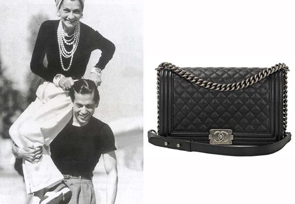 Coco Chanel con su amor y el bolso que le inspiró. Compra aquí