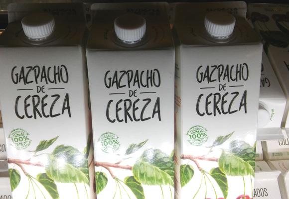 Compra aquí el gazpacho de cereza