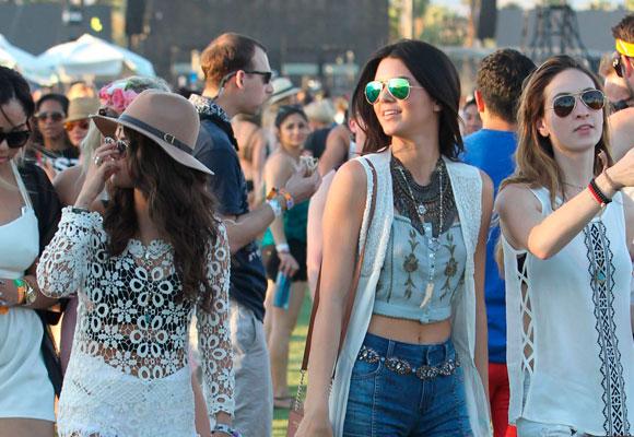 Kendall Jenner en el Coachella el año pasado