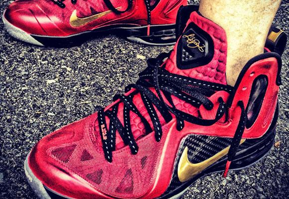 "Nike LeBron 9 P.S. Elite ""Finals"" by Mache Custom Kicks"