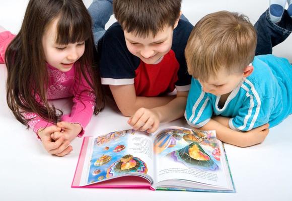 Los libros hacen volar la imaginación de los niños