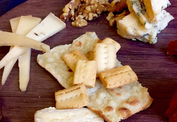 Buenos quesos para terminar la degustación salada