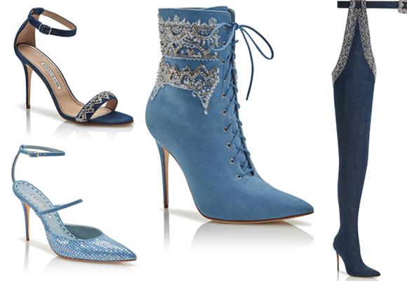 Botines, sandalias y botas mosqueteras XL. Aquí puedes comprar la colección de Rihanna X Blahnik