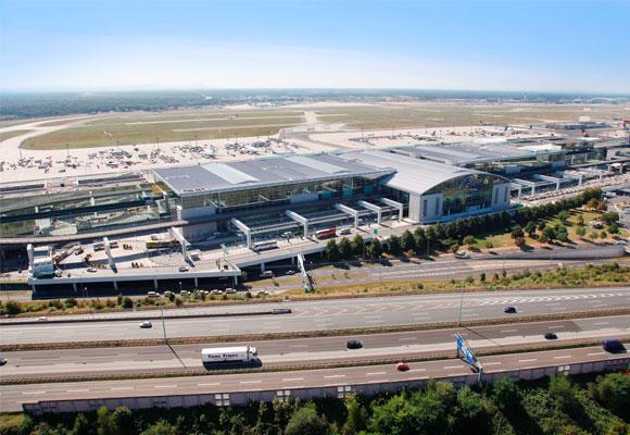Terminal 2 del aeropuerto, un gran centro comercial dentro de Alemania