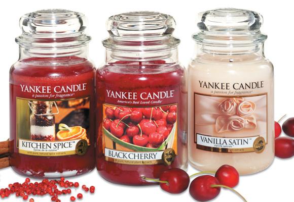 Con olor a cereza, a canela... las velas más duces. Compra aquí