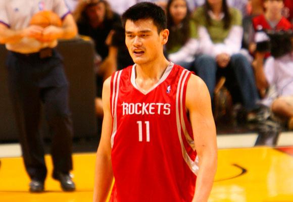 Yao Ming es un ídolo en China