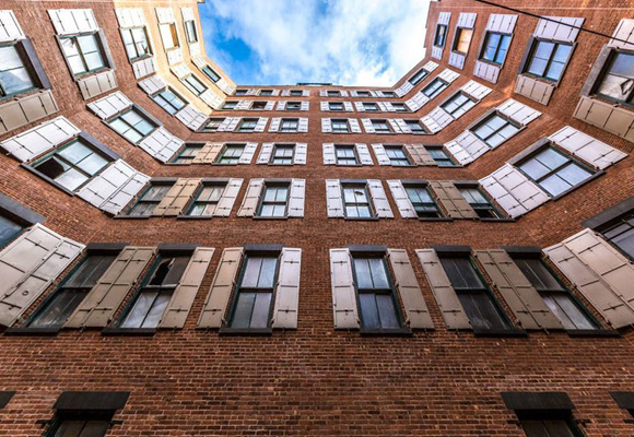 Edificios que encierran apartamentos de lujo en Manhattan
