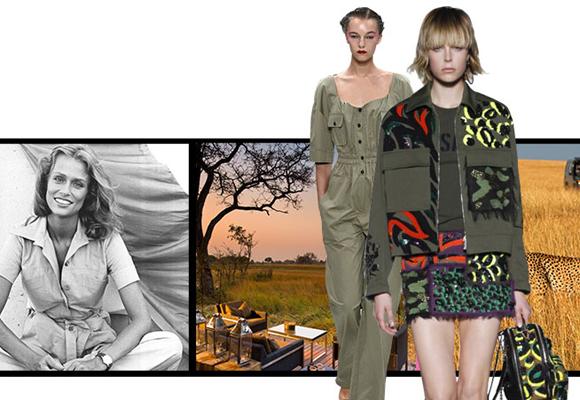 La web vende moda ya hasta safaris de lujo