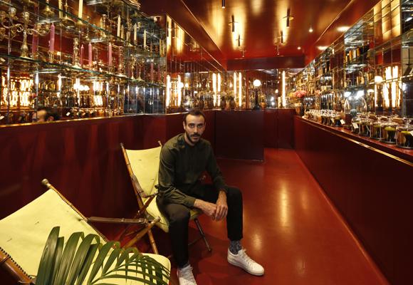 Fabrizio Casiraghi ha sido el encargado del diseño de la tienda