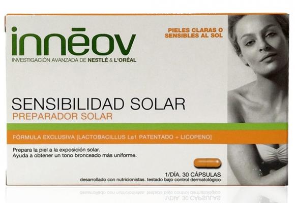 Previene la sensibilidad solar con Innéov. Compra aquí