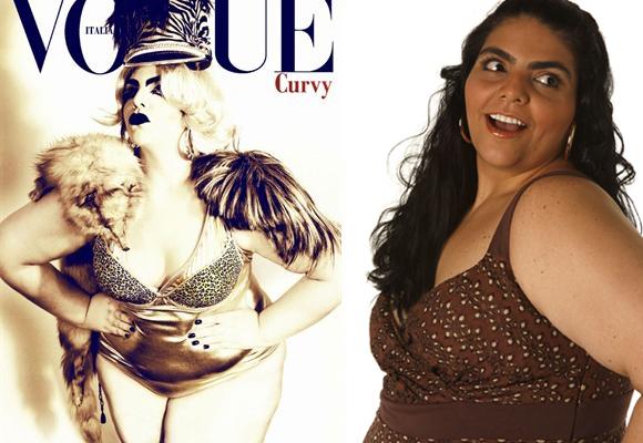 Jennifer Barreto Leyva fue portada de Vogue Italia Curvy