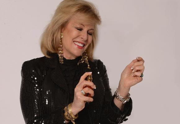 Sue vive rodeada de aromas y perfumes