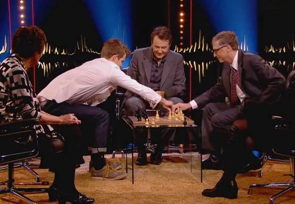 La partida de ajedrez que Gates perdió