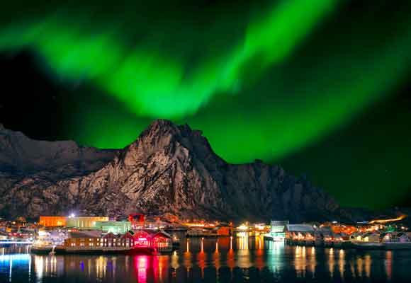 Las auroras boreales, un auténtico espectáculo invernal