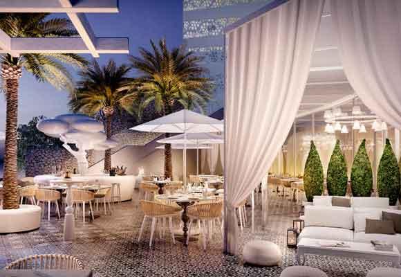 Todos los rincones del IBEROSTAR Grand Hotel Portals Nous, como el Wellness Bar, invitan a soñar