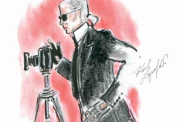 Karl Lagerfeld presenta su exposición