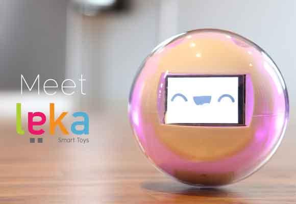 Leka es una bola interactiva