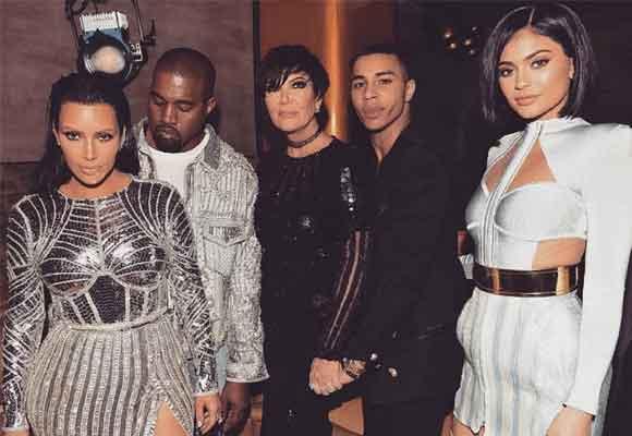 Olivier es un hombre mediático y muy amigo de celebrities como las Kardashians